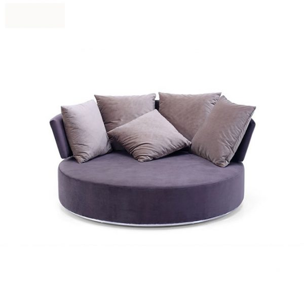 Swivel Sofa Chair Lavender Voyaide